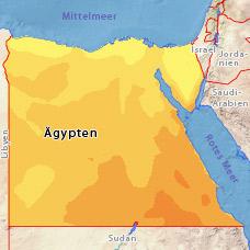 Temperaturen ägypten Juni