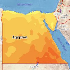 wetter in ägypten april