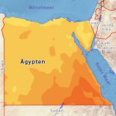 Temperaturen ägypten Oktober