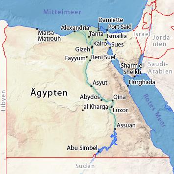 Karte ägypten Sharm El Sheikh.Wetter ägypten Klima Und Wetter Nach Städten